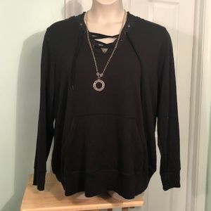 Ideology Pullover 3X Lace Top